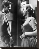 Janet Leigh, Psycho (1960) Stretched Canvas Print