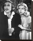 Young Frankenstein Stretched Canvas Print