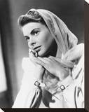 Ingrid Bergman Stretched Canvas Print
