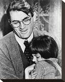 To Kill a Mockingbird Stretched Canvas Print