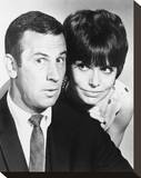 Get Smart Stretched Canvas Print