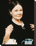 Judi Dench Stretched Canvas Print