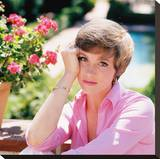 Julie Andrews Stretched Canvas Print