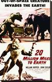 20 Million Miles to Earth Stretched Canvas Print