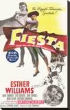 Fiesta Stretched Canvas Print
