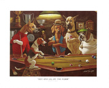Hey! One Leg on the Floor Poster by Arthur Sarnoff