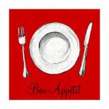 Bon Appetit Premium Giclee Print by Gina Ritter
