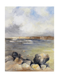 Along the Coast of Sardinia II Premium Giclee Print by Lanie Loreth