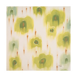 Green Bloom Giclee Print by Patricia Quintero-Pinto