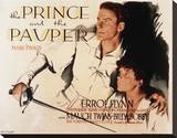 The Prince and the Pauper Stretched Canvas Print