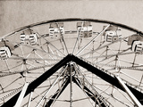 Ferris Wheel Photographic Print by Gail Peck