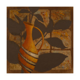 Little Striped Vase I Premium Giclee Print by Lanie Loreth