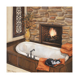 Fireplace Escape I Premium Giclee Print by  Hakimipour-ritter
