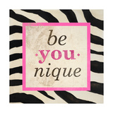 Be-You-Nique Giclee Print by Patricia Pinto