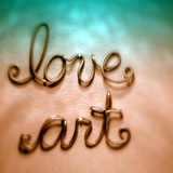 Love Art Photographic Print by Gail Peck