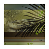 Palm and Stripes II Giclee Print by Patricia Quintero-Pinto