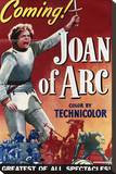 Joan of Arc Stretched Canvas Print