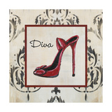 Diva Shoe Premium Giclee Print by  Hakimipour-ritter