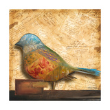 Bird of Collage I Giclee Print by Patricia Quintero-Pinto