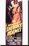The Adventures of Sherlock Holmes Stretched Canvas Print