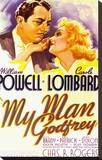 My Man Godfrey Stretched Canvas Print