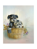 Brotherly Love Premium Giclee Print by Ruane Manning