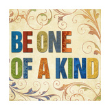 Be One of a Kind Premium Giclee Print by Elizabeth Medley