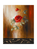 Crimson Rose II Premium Giclee Print by Lanie Loreth