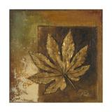 Golden Leaves II Premium Giclee Print by Patricia Quintero-Pinto