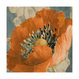 Orange Poppy Giclee Print by Lanie Loreth