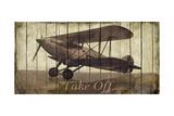 Take Off Premium Giclee Print by Merri Pattinian