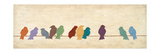 Réunion des oiseaux Reproduction procédé giclée par Patricia Quintero-Pinto