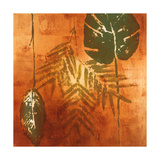 Luminous Leaves II Prints by Lanie Loreth