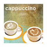 Cappuccino Premium Giclee Print by Donna Slade