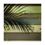 Palm and Stripes I Giclee Print by Patricia Quintero-Pinto