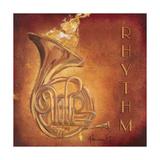 Rhythm Premium gicléedruk van  Hakimipour-ritter