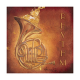 Rhythm Premium Giclee Print by  Hakimipour-ritter