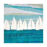 Afternoon Regatta II Premium Giclee Print by Dan Meneely