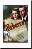 Rebecca Stretched Canvas Print