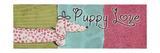 Puppy Love Giclee-tryk i høj kvalitet af Patricia Quintero-Pinto