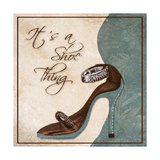 Its a Shoe Thing Giclee Print by Gina Ritter