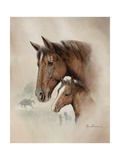 Race Horse I Giclee Print by Ruane Manning