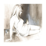 Sketched Waking Woman II Premium Giclee Print by Lanie Loreth