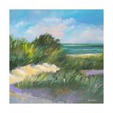 Blue Grass Breeze II Premium Giclee Print by Jane Slivka