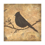 Bird Silhouette II Giclee Print by Patricia Quintero-Pinto