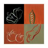 Smorgasbord IV Premium Giclee Print by Lanie Loreth