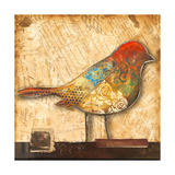 Bird of Collage II Giclee Print by Patricia Quintero-Pinto
