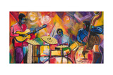 Jazz Trio Giclee Print by Everett Spruill