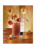 Afternoon Poppy Still Life I Reproduction procédé giclée par Lanie Loreth