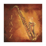 Jazz Premium Giclee Print by  Hakimipour-ritter